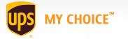 UPS My Choice coupon codes