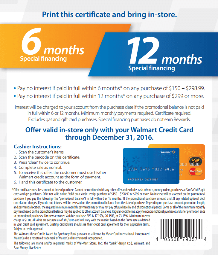 Walmart coupon codes